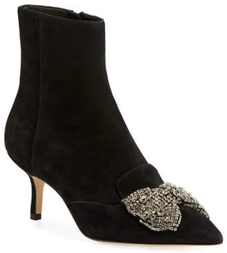 Tory Burch Esme 65mm Point-Toe Booties