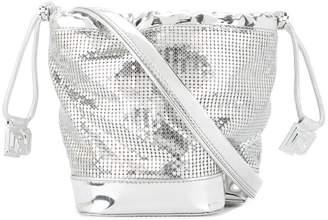 Paco Rabanne small drawstring shoulder bag