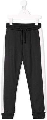 Calvin Klein Kids contrast piped track pants