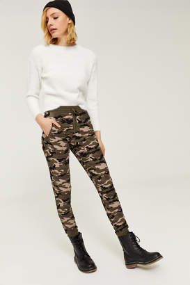 Ardene Super Soft Camouflage Joggers