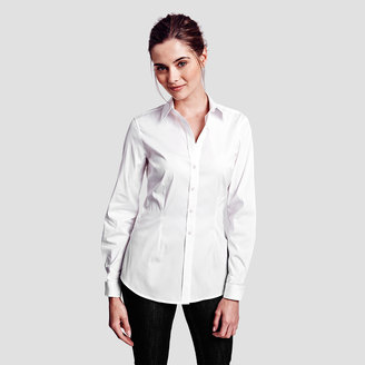 Sasha Double Cuff Shirt $165 thestylecure.com