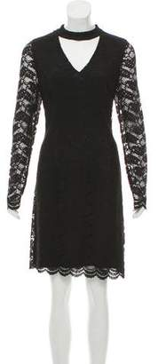 Karl Lagerfeld Lace Knee-Length Dress