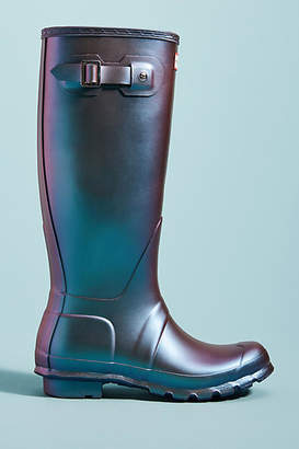 Hunter Boots Original Tall Irridescent Rain Boots