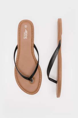 Ardene Thin Strap Flip-Flops