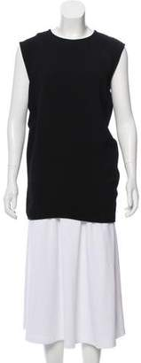 Celine Sleeveless Crewneck Top