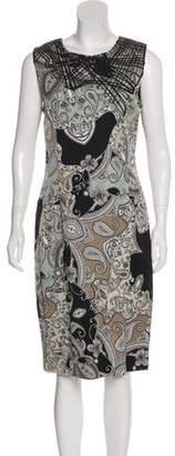 Etro Midi Paisley Shift Dress w/ Tags