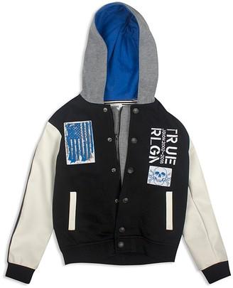 True Religion Boys' Punk Varsity Jacket - Sizes 2T-7 $129 thestylecure.com