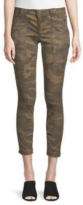 Joie Park Camouflage Cropped Skinny Pants