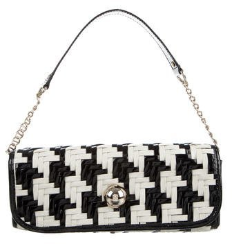 Kate Spade Kate Spade New York Bicolor Leather Woven Bag