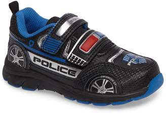 Stride Rite Vroomz Light-Up Police Car Sneaker
