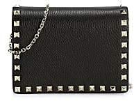 Valentino Garavani Women's Rockstud Chain Strap Leather Pouch