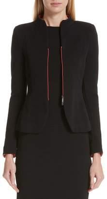 Emporio Armani Contrast Zip Jacket