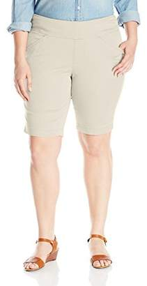 Jag Jeans Women's Plus-Size WM Ainsley Pull-On Bermuda Short In Bay Twill