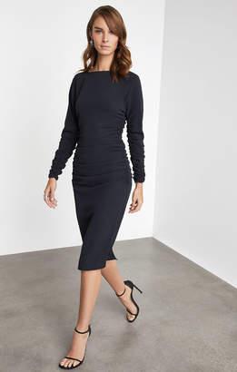 BCBGMAXAZRIA Ruched Sheath Dress