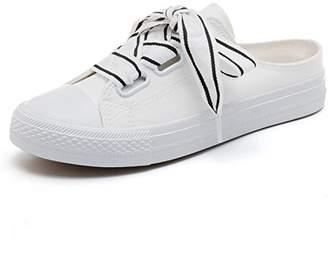 Chic Girl's Ladies Womens Slip On Sneaker Clogs Sandals (-38/7.5 B (M) US Women)