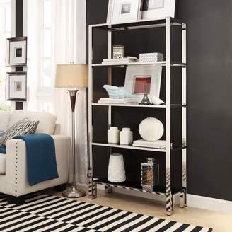 Homevance HomeVance Merrick 4-Shelf Wide Bookcase