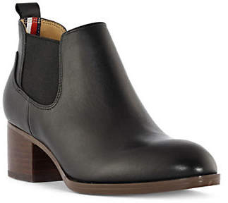 Tommy Hilfiger Stacked Heel Booties