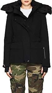 Moncler Women's Entova Tech-Faille Coat - Black