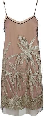 N°21 N.21 Embroidered Palm Dress