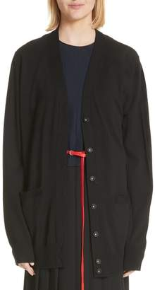 Marc Jacobs Oversized Wool Cardigan