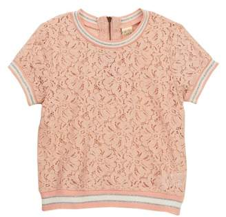 Harper Canyon Lace Tee (Little Girls)