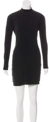 Armani Jeans Long-Sleeve Mini Dress