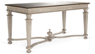 "One Kings Lane Mason 63"" Dining Table - Distressed Ivory"