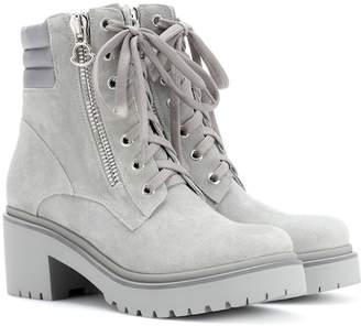 Moncler Viviane suede ankle boots