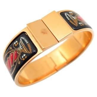 Hermes Gold Metal Bracelet