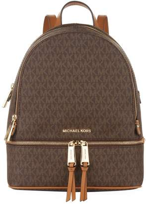 MICHAEL Michael Kors Medium Logo Rhea Backpack