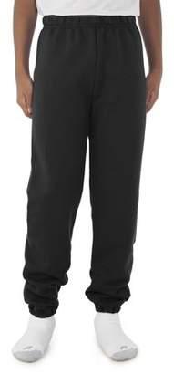 JERZEES Boys' Mid-Weight Fleece Elastic Bottom Sweatpants