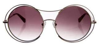 Zac Posen Rochelle Round Sunglasses