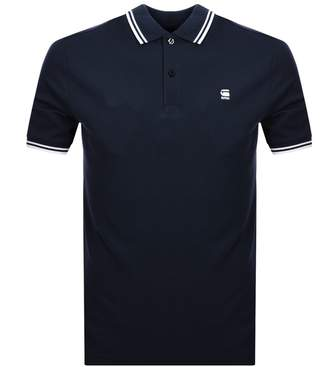G Star Raw Dunda Polo T Shirt Navy
