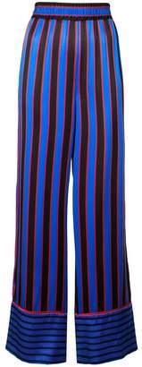 Alice + Olivia Alice+Olivia striped silk nightwear trousers