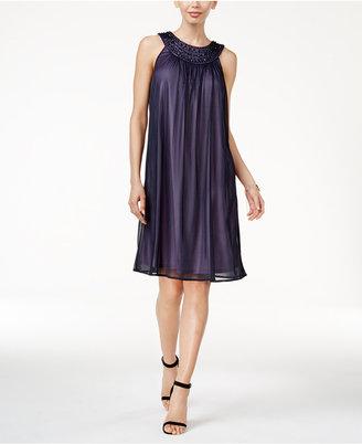 Jessica Howard Embellished Shift Dress $109 thestylecure.com