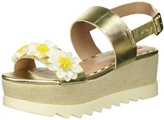 Betsey Johnson Women's PIPPER Wedge Sandal