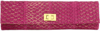 Inge Christopher Corsica Leather Clutch