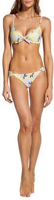 Vix Lily Printed Underwire Bikini Top