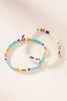 At Anthropologie Shashi Talia Bracelet Set