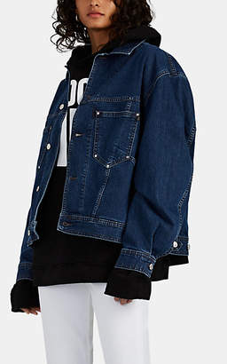 Katharine Hamnett Women's Coline Denim Oversized Jacket - Blue