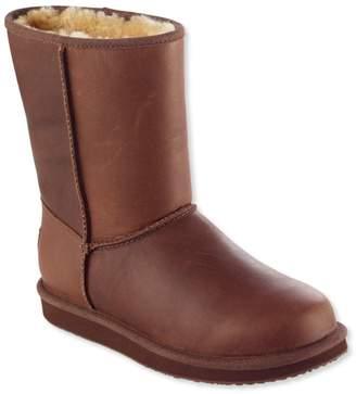 L.L. Bean L.L.Bean Women's Wicked Good Shearling Boots, Mid