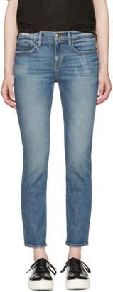 Frame Indigo Le Boy Jeans
