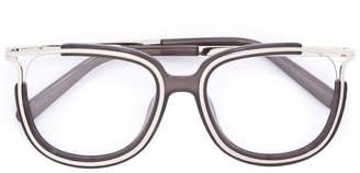 Chloé Eyewear metal rim glasses
