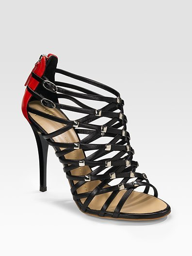 Giuseppe Zanotti Strappy Leather Sandals