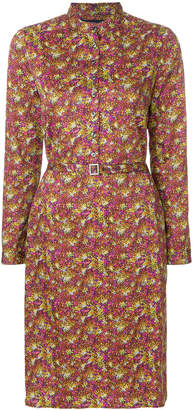 Vanessa Seward print belted shirt dress