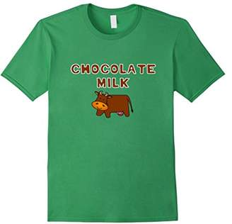 Funny & Trendy Chocolate Milk Humor Poll Brown Cows T-shirt