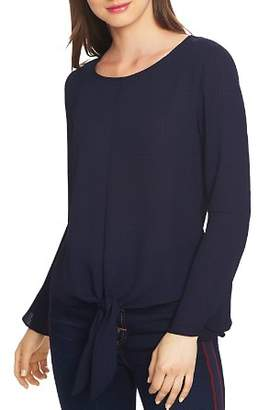 1 STATE 1.STATE Bell Sleeve Tie-Front Top