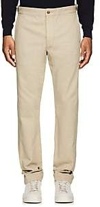 Rrl Men's Corded Cotton Trousers-Beige, Tan Size 31w 34l