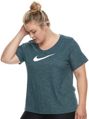 Nike Plus Size Swoosh Short Sleeve Graphic Tee