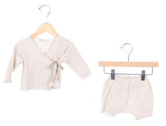 Babe & Tess Girls' Rib Knit Two-Piece Set w/ Tags